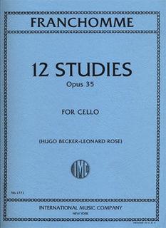 International Music Company Franchomme (Becker-Rose): Etudes Op.35 (cello)
