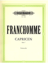 Franchomme, Auguste: Caprices Op.7 (cello)