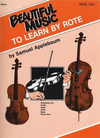 Alfred Music Applebaum, Samuel: Beautiful Music to Learn by Rote Bk.1 (viola)