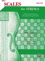 Alfred Music Applebaum, S.: Scales for Strings Bk.1 (viola)