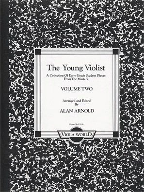 Arnold, Alan: The Young Violist V.2 (early grade pieces for viola & piano