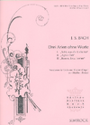 HAL LEONARD Bach, J.S. (Breuer): Three Arias without words (viola & piano)