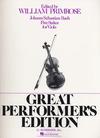 HAL LEONARD Bach, J.S. (Primrose): Five Suites for Viola