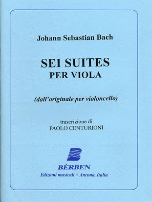 Carl Fischer Bach, J.S. (Centurioni): 6 Sonatas & Partitas (viola)