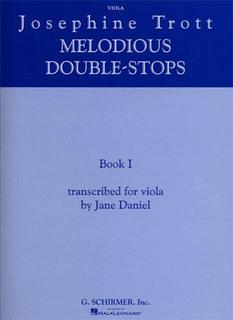 HAL LEONARD Trott, Josephine: Melodious Double Stops Bk.1 (viola)