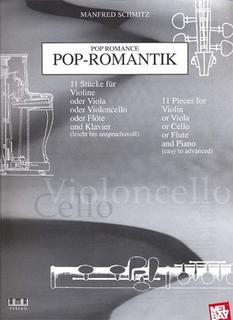 Schmitz, Manfred: Pop Romance for Cello