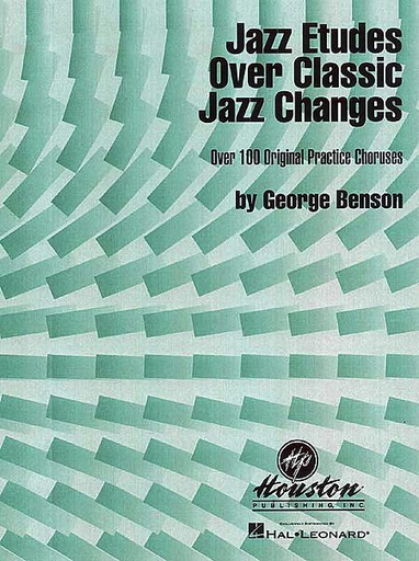 HAL LEONARD Benson, George: Jazz Etudes Over Classic Jazz Changes - Treble Clef (violin, Chords)