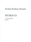 HAL LEONARD Bennett, RIchard: Memento for violin and piano (2010)