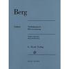 HAL LEONARD Berg, Alban (Kube): Violin Concerto (violin & piano)