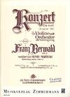 Berwald, F.: Concerto in C Sharp Minor, Op. 2 (violin and piano)