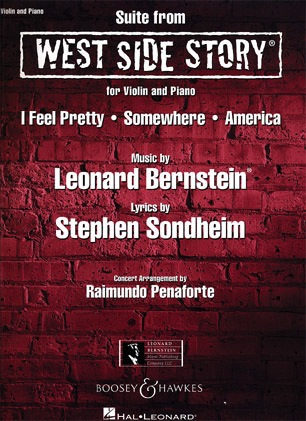 HAL LEONARD Bernstein, Leonard (Penaforte): Suite from West Side Story for Violin and Piano
