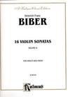Alfred Music Biber, Heinrich Franz: 16 Volin Sonatas Vol.2 (violin & piano)