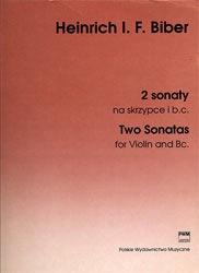 Carl Fischer Biber, H.I.F.von: Two Sonatas (violin & piano)