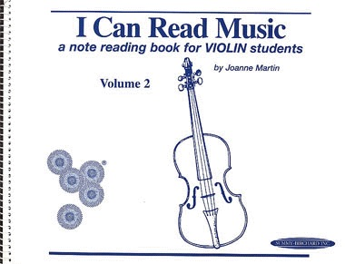 Martin, Joanne: I Can Read Music Volume 2 (violin)