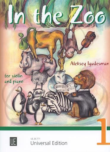 Carl Fischer Igudesman: (score/parts) In the Zoo, Vol.1 (violin & piano) Universal Edition