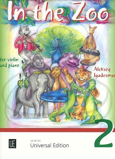 Carl Fischer Igudesman: (score/parts) In the Zoo, Vol.2 (violin & piano) Universal Edition