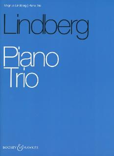 HAL LEONARD Lindberg, M.: Piano Trio (violin, cello, piano)