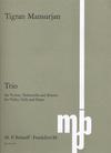 Mansurjan, T.: Trio (violin, cello, and piano)