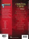 HAL LEONARD Christmas Carols for Viola-10 Holiday Favorites-Easy Instrumental Play-along (Audio access included)