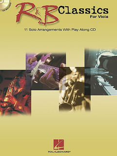 HAL LEONARD R&B Classics (viola & CD)