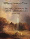 Dover Publications Mozart, W.A.: (Dover Score) The Violin Concerti and the Sinfonia Concertante, K.364 (mixed ensemble)
