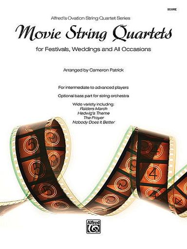 Alfred Music Patrick: Movie String Quartets (score)