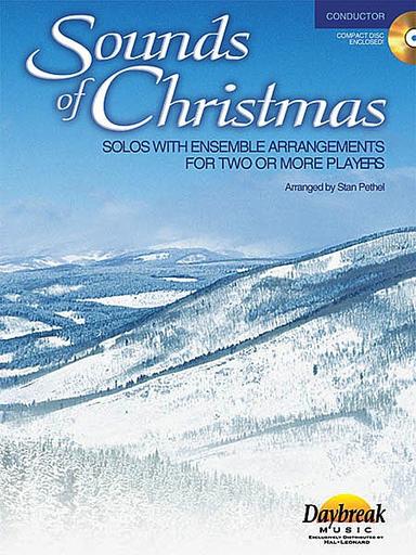 HAL LEONARD Pethel, Stan: Sounds of Christmas (conductor score, CD)
