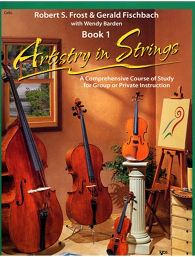 Frost, Robert: Artistry in Strings Bk.1 (cello)