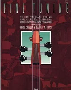 Spinosa, F. & Rusch, H.: Fine Tuning (cello)