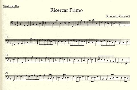 Barenreiter Gabrielli, Domenico: The Complete Works for Violoncello (Cello Solo, Cello & piano) Barenreiter
