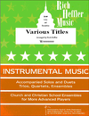 Gaither, W.J.: He Touched Me (cello solo)