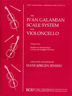 Galamian (Jensen): Ivan Galamian Scale System for Violoncello Vol.2 Double Stops