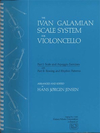Galaxy Music Galamian, I. (Jensen): The Ivan Galamian Scale System for Violoncello, Vol.1 (cello)