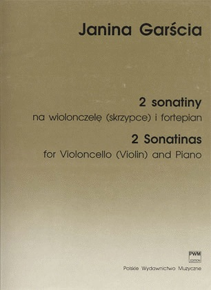 Carl Fischer Garscia, Janina: 2 Sonatinas (cello & piano)