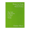CHESTER MUSIC Bach, J.S. (Forbes): The Solo Cello Suites arranged for Viola