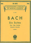 Schirmer Bach, J.S. (Lifschey): Six Cello Suites transcribed for the Viola