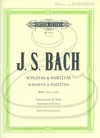 Bach, J.S. (Rowland-Jones/Ledbetter): Sonatas & Partitas, BWV1001-1006 - TRANSCRIBED (viola) Edition Peters