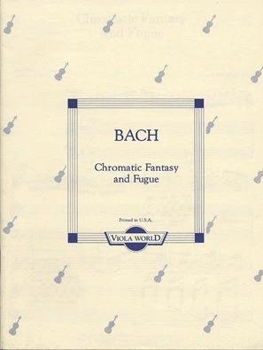 Bach, J.S. (Arnold): Chromatic Fantasy & Fugue (viola & piano)
