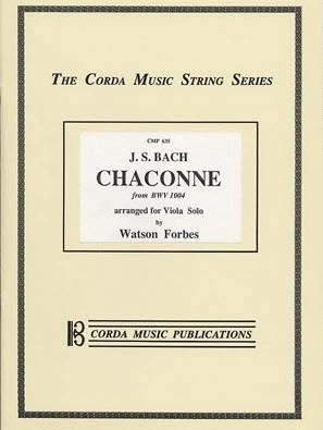 Bach, J.S. (Forbes): Chaconne (Viola)