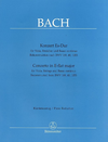 Barenreiter Bach, J.S.: Concerto in Eb Major (viola & basso continuo)
