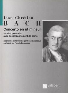 Salabert Bach, J.C. (Casadesus): Concerto in C minor (viola & piano)