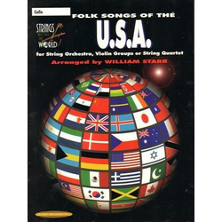 Starr, William: Folk Songs of the U.S.A. (cello)