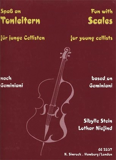 Carl Fischer Stein/Niefind: Fun With Scales for Young Cellists