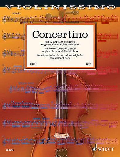 HAL LEONARD Birtel, Wolfgang: Concertino (violin & piano)