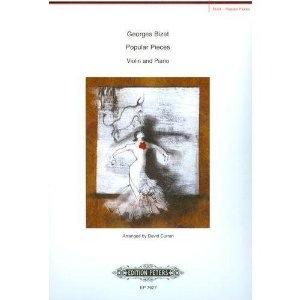 C.F. Peters Bizet, Georges: Popular Pieces-Carmen, L'Arlesienne (violin & piano)