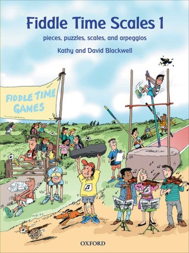 Oxford University Press Blackwell, K.&D.: Fiddle Time Scales, Book 1 (violin)