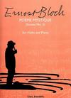 Carl Fischer Bloch, Ernest: Poeme Mystique-Sonata No.2 (violin & piano)