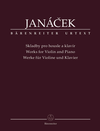 Barenreiter Jancek, Leos (Krejci & Nemkova): Works for Violin and Piano, Barenreiter