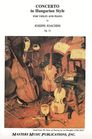 LudwigMasters Joachim, Joseph: Concerto in Hungarian Style Op.11 (violin & piano)