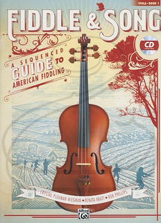 Alfred Music Wiegman/Bratt/Phillips: Fiddle & Song, Bk.1 (viola)(CD) Alfred